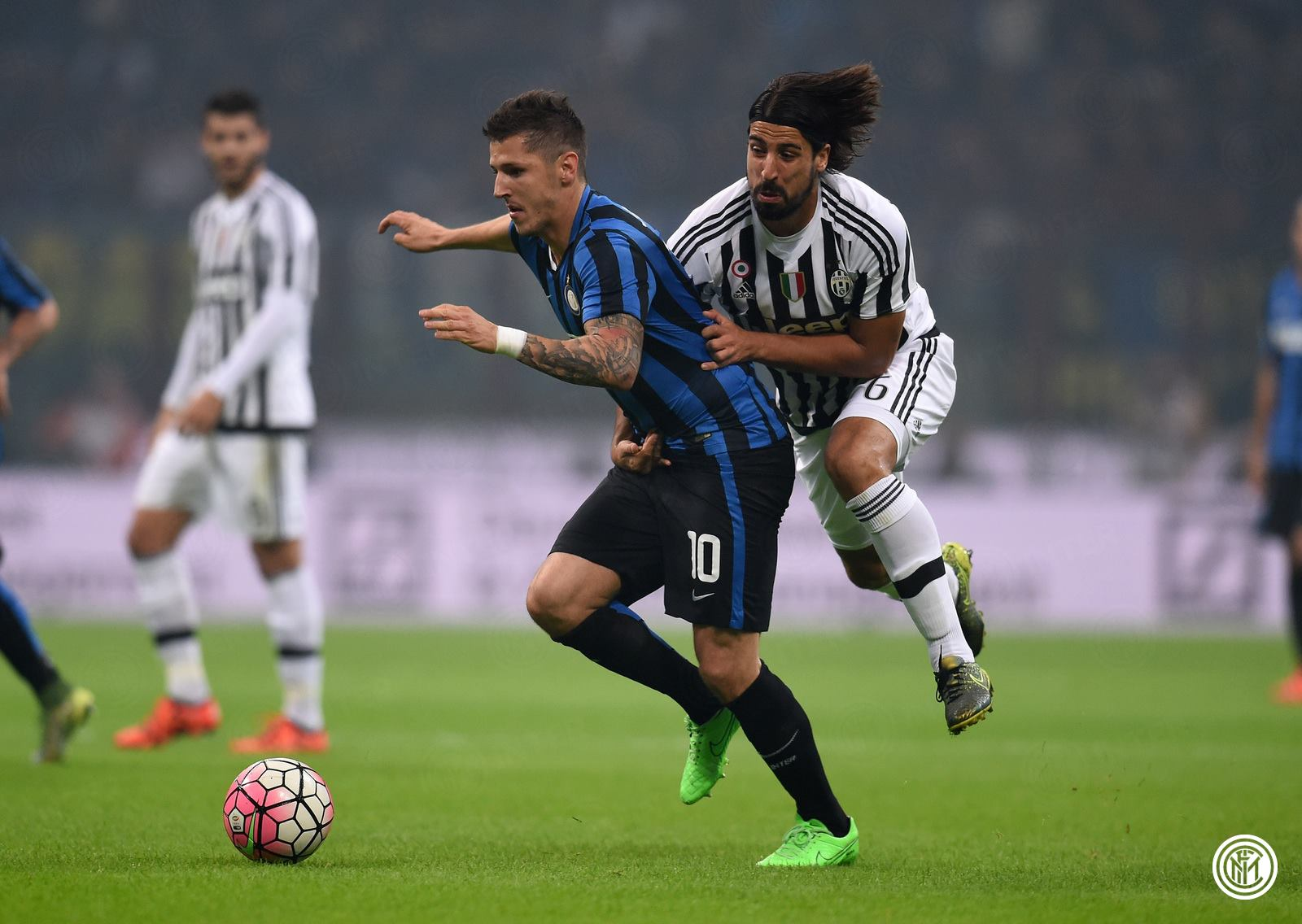 Jovetic vs Khedira
